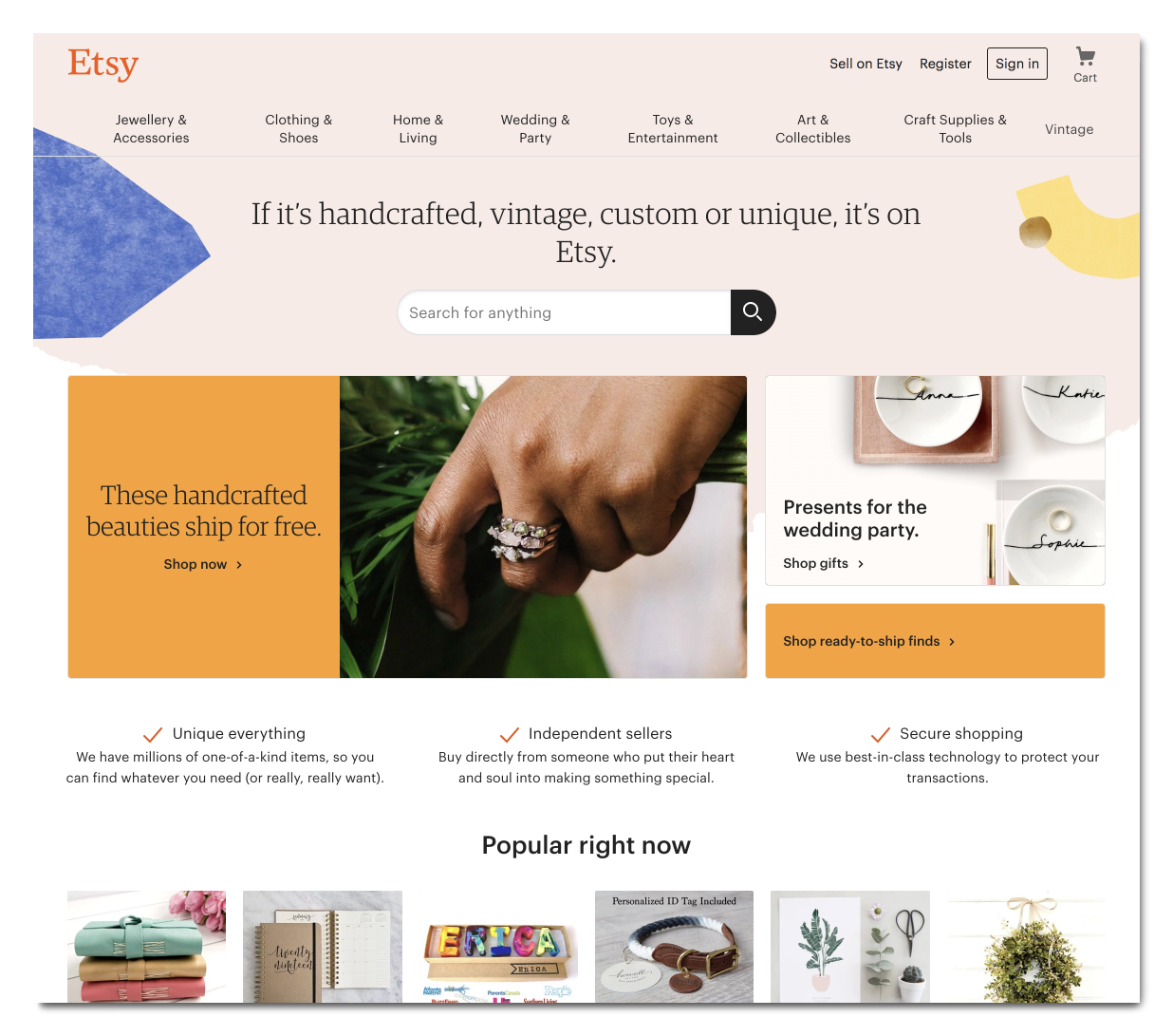 multichannel selling on Etsy