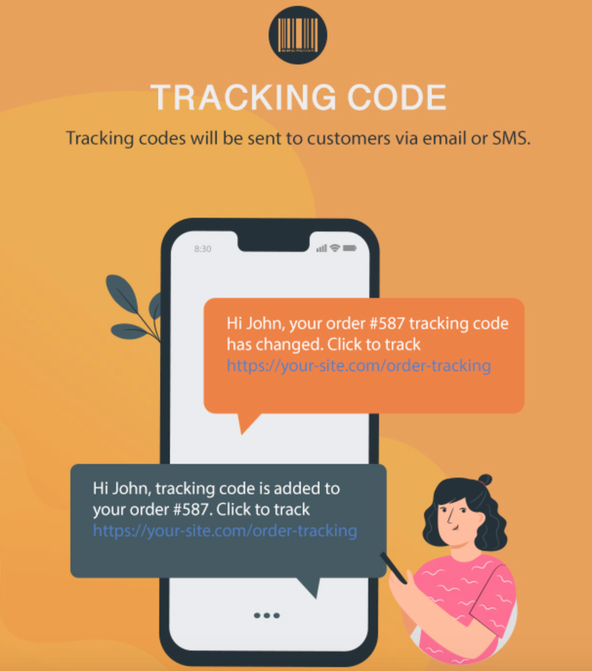 Plugin called Orders Tracking for WooCommerce