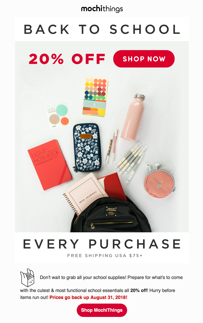 back-to-school-promo-email