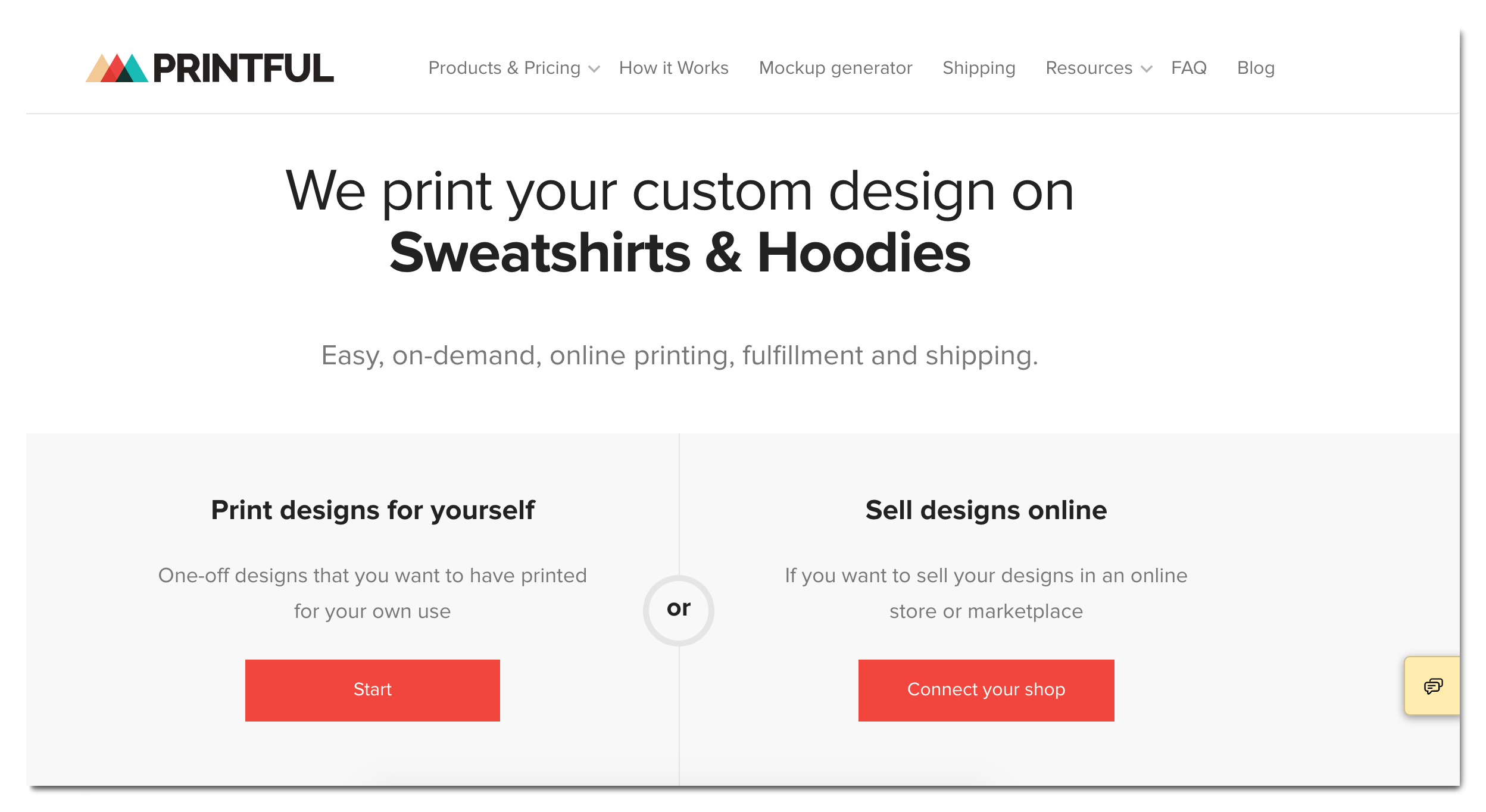 Printful-Shopify-App