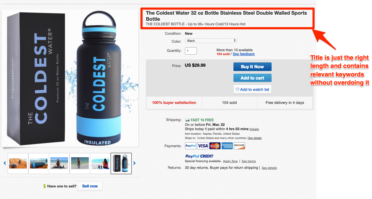 eBay-listing-example-product-title