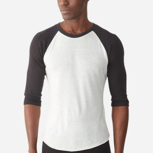 Custom activewear raglan shirts