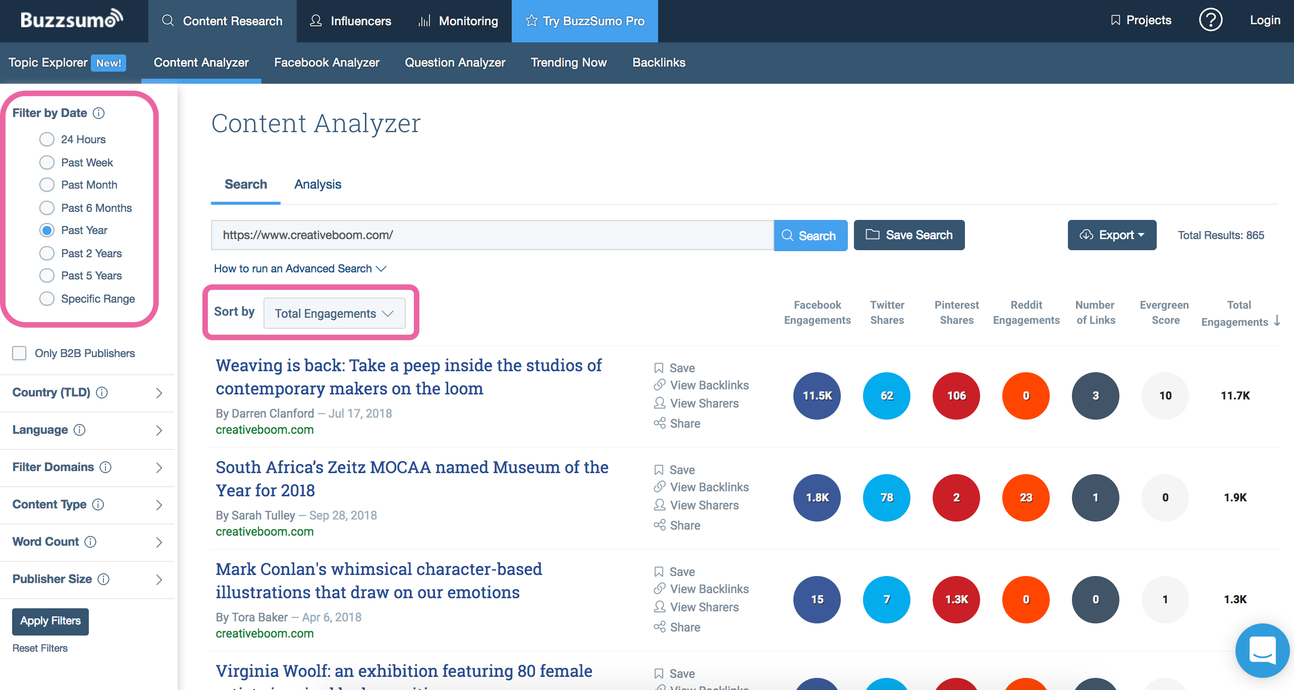 buzzsumo-content-analyzer
