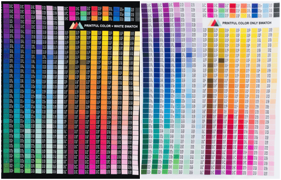 Color Matching Guide For Print On Demand Products Blog Printful