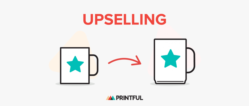Illustration of upselling example