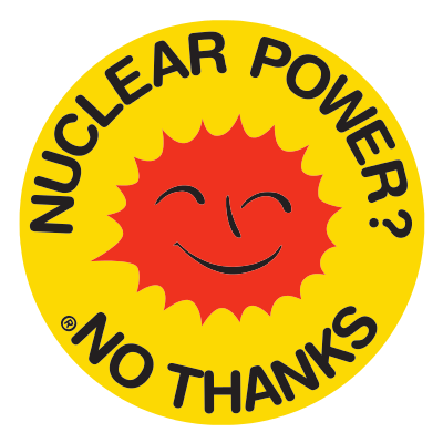 Antinuclear movement logo