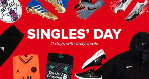 Singles day holiday sale