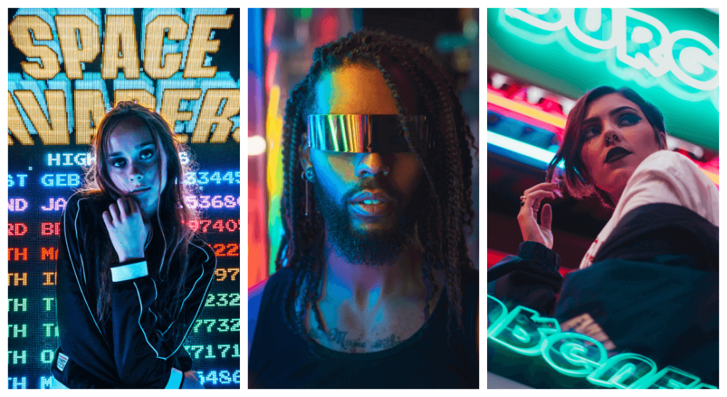 neon-signs-model-portait-product-photography-trends
