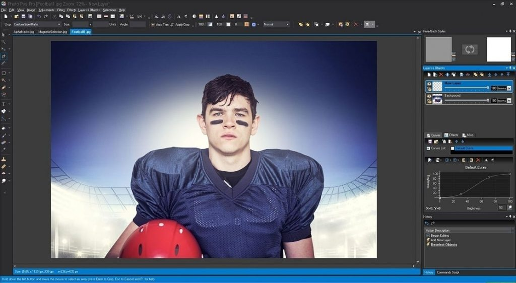 Alternative-Photoshop-Photo Pos editor-esempio-screenshot