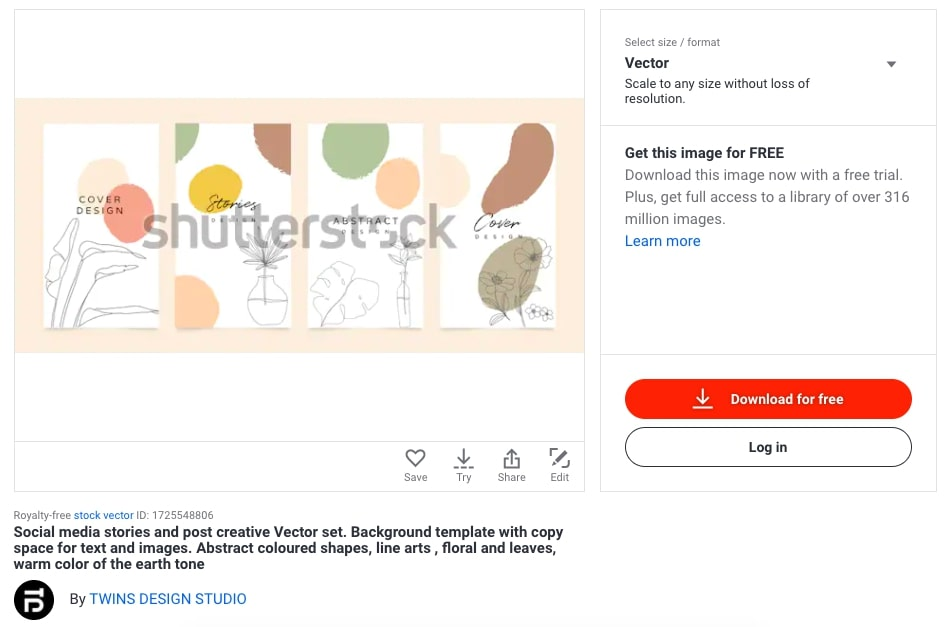 sell digital art products example