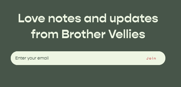 Brother Vellies subscription block