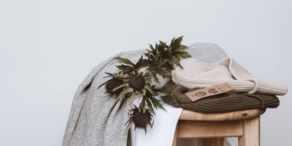Clothing made from sustainable materials