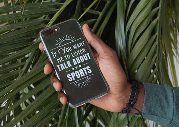 Custom phone case as a gift for him
