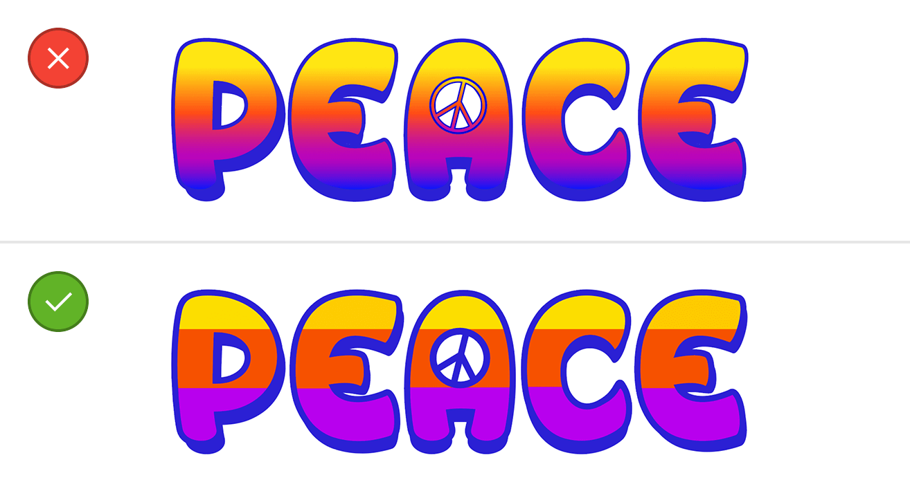 embroidery compatible color gradients
