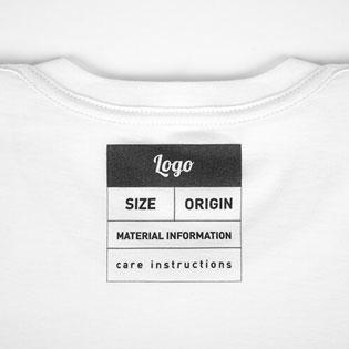 Tシャツの内側
